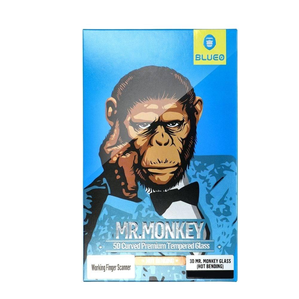 5D Mr. Monkey Glass – Apple iPhone 13 black (Strong Matte)