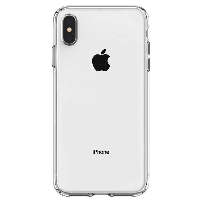 Case SPIGEN iPhone X XS Liquid Crystal Clear Clear Case Apple