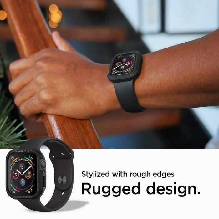 Rugged Armor Case SPIGEN Apple Watch 4 (40mm) Black Black Case