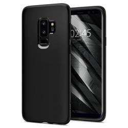 Etui SPIGEN Flüssigkristall Samsung Galaxy S9 + Plus G965 Czarny Fall