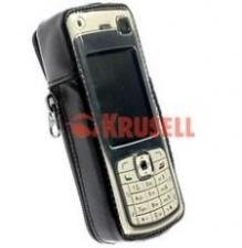 Fall KRUSELL Nokia N70 Original Fall Schwarz Fall
