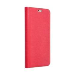 Forcell LUNA Buch Gold Holster für SAMSUNG Galaxy S22 Ultra rot
