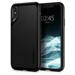 Hülle SPIGEN Neo Hybrid Apple iPhone X XS JET Schwarz Schwarz Hülle