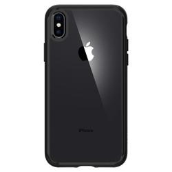 Hülle SPIGEN iPhone X XS Ultra Hybrid 360 Mattschwarz Schwarz Apple Hülle