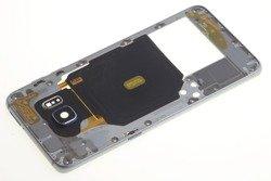 Obudowa Korpus Ramka Samsung Galaxy S6 Edge Szara Black Saphire Grade A