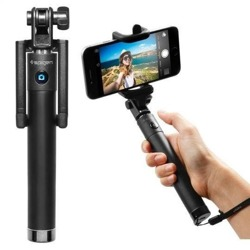 Selfie Stick SPIGEN S520 Bluetooth Schwarz