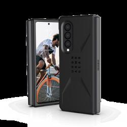 UAG Civilian - Schutzhülle für Samsung Galaxy Fold 3 (schwarz)