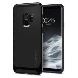 Etui SPIGEN Neo Hybrid Samsung Galaxy S9 glänzend schwarz Fall