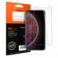 Gehärtetes Glas SPIGEN GLAS.TR Schlankes HD Apple iPhone X XS 11 Pro