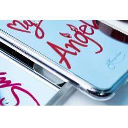 [PO ZWROCIE] Kingxbar Angel lustrzane etui ozdobione oryginalnymi Kryształami Swarovskiego iPhone 11 Pro Max lusterko przezroczysty