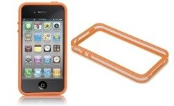 Case-Mate Hula Bumper Apple iPhone 4 4S Pomarańczowy 2 Folie