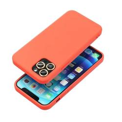 ETUI Futerał Forcell SILICONE LITE do IPHONE 13 PRO MAX różowy CASE