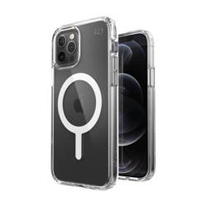 ETUI Presidio Perfect Clear + Magsafe - Etui iPhone 12 / iPhone 12 Pro z powłoką MICROBAN (Clear) CASE