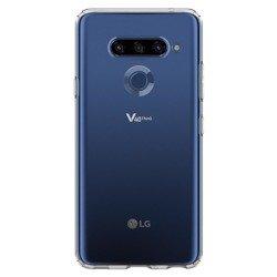 Etui SPIGEN Liquid Crystal LG V40 Thinq Crystal Clear Przeźroczyste Case