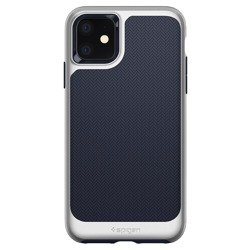 Etui SPIGEN Neo Hybrid Apple Iphone 11 Arctic Silver Srebrne Case
