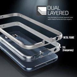 Etui Samsung Galaxy S6 VERUS Iron Bumper Silver Jak Spigen SGP Pokrowiec