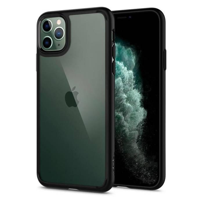 Etui Spigen iPhone 11 Pro Ultra Hybrid Czarne Black Case Apple