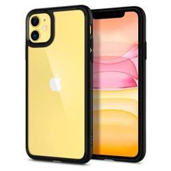 Etui Spigen iPhone 11 Ultra Hybrid Czarne Black Case Apple