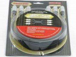 Kabel PROLINK 3xRCA - 3RCA Component 0,6m TCV 5250