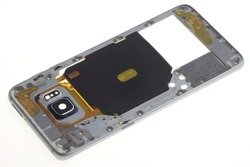 Obudowa Korpus Ramka SAMSUNG Galaxy S6 Edge Plus Szara Black Saphire Grade A