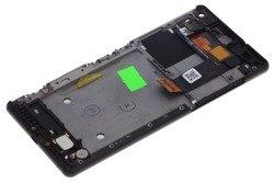 Oryginalny Dotyk WYŚWIETLACZ LCD SONY Xperia C5 Ultra Czarny Grade A