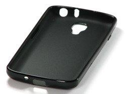 Pokrowiec Jelly Case LG F70 Czarny Etui Silikon Gładki