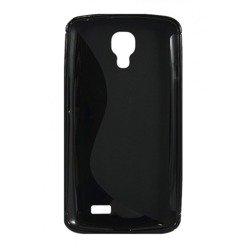 Pokrowiec S-Line LG F70 Czarny Etui Silikon