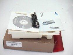Pudełko SAMSUNG L760 Brown CD, Kabel
