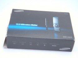 Pudełko SAMSUNG U600 Black CD Kabel Sterowniki