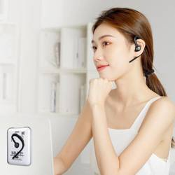 REMAX Wireless Earhook Headset for Noise-reduced calls RB-T39 black