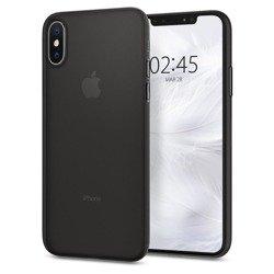 Spigen iPhone X XS Etui Airskin Czarne Case Apple
